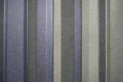 Metal Siding Closeup. Closeup view of some metal siding Stock Photography