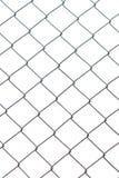 Metal sieć odizolowywająca na białym tle fotografia zaciemnia zdjęcia stock