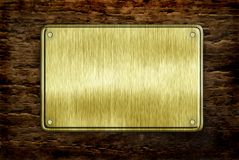 Metal Sign Royalty Free Stock Images