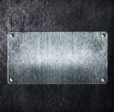 Metal sign Royalty Free Stock Photos