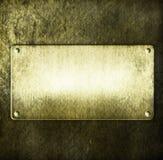 Metal sign Royalty Free Stock Photo