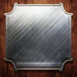 Metal signboard Royalty Free Stock Photos
