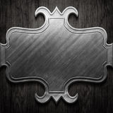 Metal signboard Royalty Free Stock Images