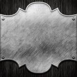 Metal signboard Royalty Free Stock Photo