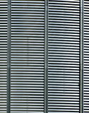 Metal silo background. A background of corrugated metal on silos Stock Photography