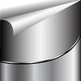 Metal silver Abstract  background Stock Photography