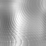 Metal silver checked  pattern Stock Photos
