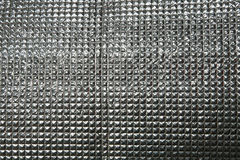 Metal silver sheet background Stock Photos