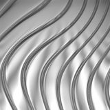 Metal silver striped pattern Stock Photo