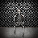 Metal skeleton Stock Photography