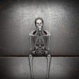 Metal skeleton Royalty Free Stock Photos