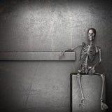 Metal skeleton Royalty Free Stock Photography