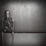 Metal skeleton Stock Photo