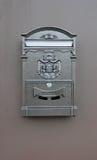 Metal skrzynka pocztowa na ścianie Zdjęcie Stock