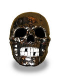 Metal skull Royalty Free Stock Photography