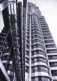 Metal skyscraper Royalty Free Stock Photos