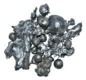 Metal slag background. Stock Image