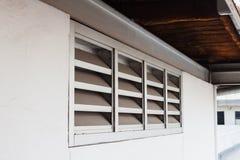 Metal slat frame,air ventilator Stock Images