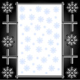 Metal snowflakes Royalty Free Stock Photography