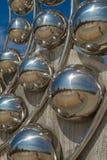 Metal sphere. Wat Phra That Pha kaew with metal sphere royalty free stock images