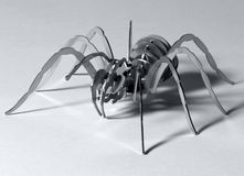 Metal spider Stock Images