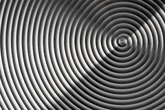 Metal spiral Royalty Free Stock Image