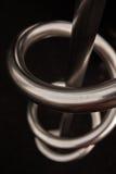 Metal spiral Royalty Free Stock Image