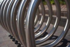 Metal spiral Stock Photo