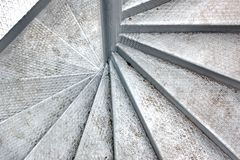 Metal Spiral Staircase Royalty Free Stock Photography