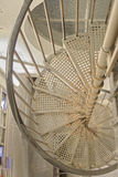 Metal spiral staircase Stock Photography