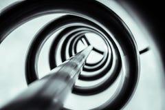 Metal spirala fotografia royalty free