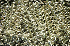 Metal spirals Royalty Free Stock Photography