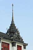 Metal spires of Loha Prasat Royalty Free Stock Photo