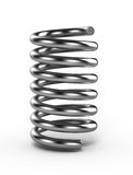 Metal spring Stock Image