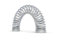 Metal spring Royalty Free Stock Images