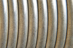Metal spring. Royalty Free Stock Photos