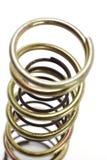 Metal spring coils stock photos