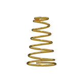 Metal spring isolated on white, 3D rendering Stock Photos