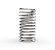 Metal spring Stock Photography