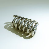 Metal spring Royalty Free Stock Image