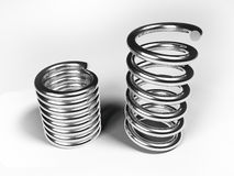 Metal springs Royalty Free Stock Photography