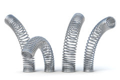 Metal springs Stock Photos