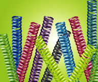 Metal springs Stock Images