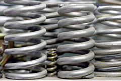 Metal springs Stock Image