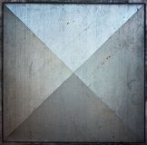 Metal square tile texture background Royalty Free Stock Image