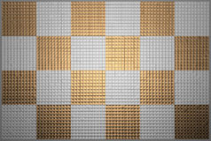 Metal squares Royalty Free Stock Photo