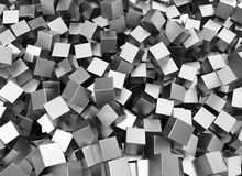 Metal squares Royalty Free Stock Images