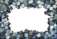 Metal squares Stock Photography