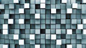 Metal squares Stock Photo