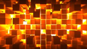 Metal squares Royalty Free Stock Photos